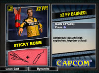 Dead rising 2 combo card Sticky Bomb
