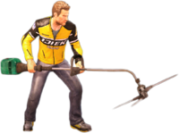 Dead rising weed tendonizer holding