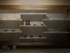 Shoes of a Lifetime Display