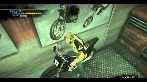 Dead rising mercenary bike does not work in combo bay