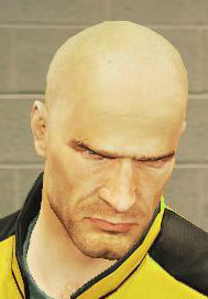 Shaved Head (Dead Rising 2)