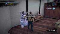 Giant stuffed donkey location 1