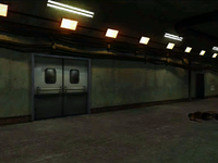 Dead rising meat processing room entrance