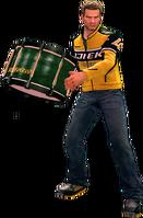 Dead rising drum holding