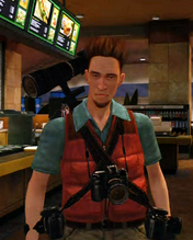 Dead rising Kent Swanson Cut from the same cloth