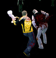 Dead rising mannequin female left leg attack (5)