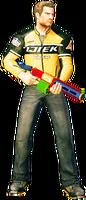 Dead rising toy spitball gun holding