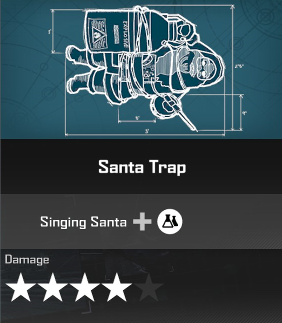 Fire Trap Santa