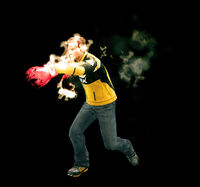 Dead rising flaming gloves combo (2)