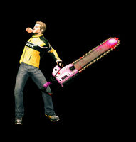 Dead rising giant pink chainsaw starting (2)