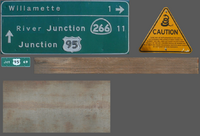 Rattle snake sign