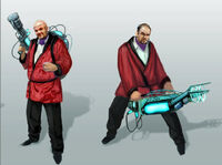 Dead rising 2 Off the Record concept art from main menu art page cliff rockfoot posters (2)
