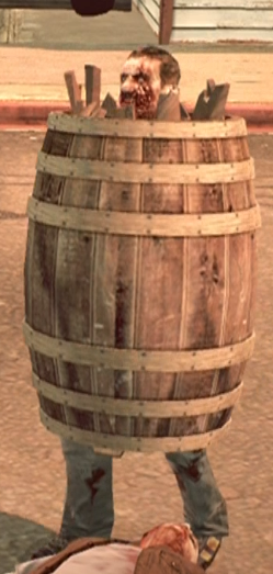 Dead rising case 0 large barrel on zombie.png