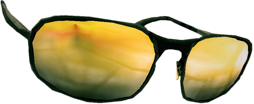 Yellow Tinted Glasses