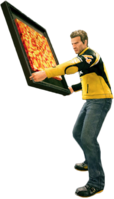 Dead rising fancy painting holding