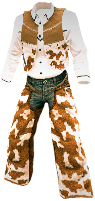 White Cowboy Outfit