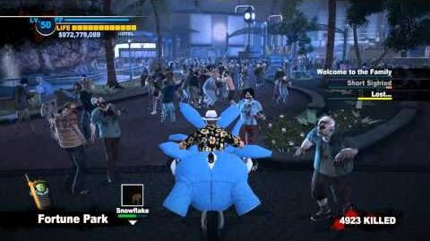 Dead Rising 2 All Combine Bike Modifications Gameplay Part 4 (Giant Stuffed Rabbit) HD