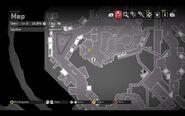 Capcom Treasure near Hotel Map