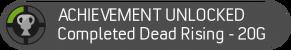 not an actual achievement