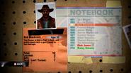 Bob's notebook entry