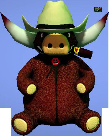 Giant Stuffed Bull