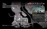 Capcom Treasure Tom's Balcony Map