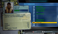 Dead rising off the record notebook juan lee 56 to 69