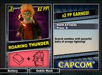 Dead rising 2 combo card Roaring Thunder
