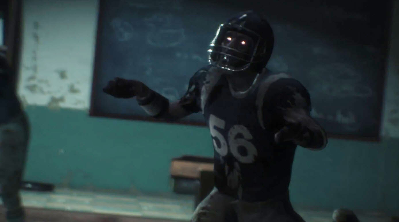 Football Player Zombie