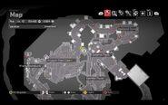 Capcom Star Bathroom Map