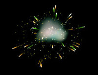 Dead rising fountain fireworks explosion