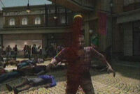 Dead Rising shower head in zombie