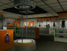 Ladies' Space Interior