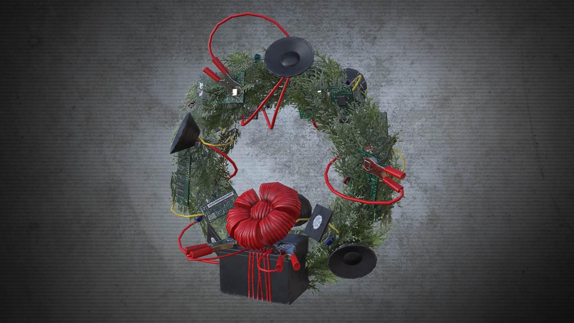 Electric Wreath