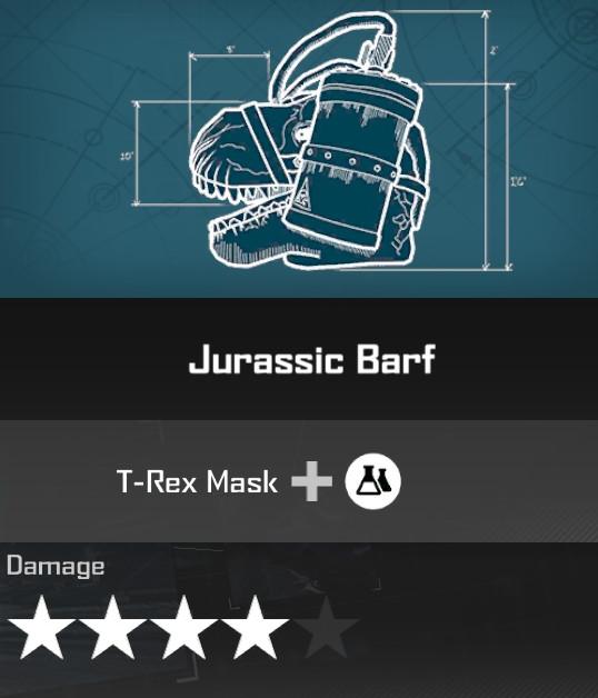 Jurassic Barf