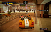Dead rising off the record sports car