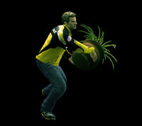 Dead rising round potted plant (7)