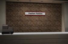 Fanfare Fashions Counter