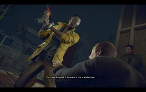 Hammond Attacks Tom