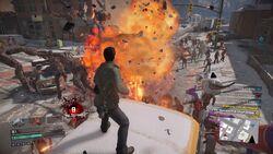 Bazooka Cannon Explosion