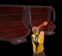 Dead rising space bench throwing