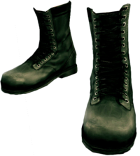 Dead rising Black Military Boots.png