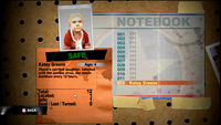 Dead rising 2 case 0 Katey notebook