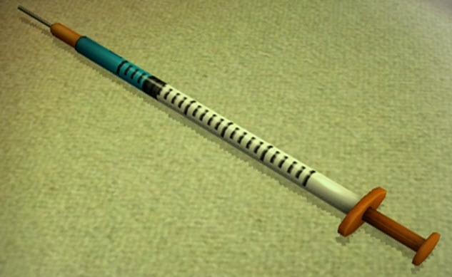 Novelty Syringe