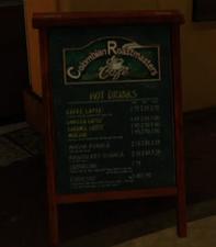 Columbian Roastmasters Sandwich Board