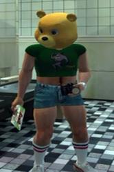 Tyke N Tots Ye Olde Toybox Teddy Bear Mask Green Ratmant t shirt (10)