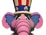 Giant Stuffed Elephant