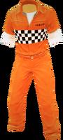 Dead rising Orange Prison Outfit 2