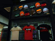 Dead rising sportrance t-shirts and caps