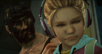Dead rising soldier pack giving katey zombrex
